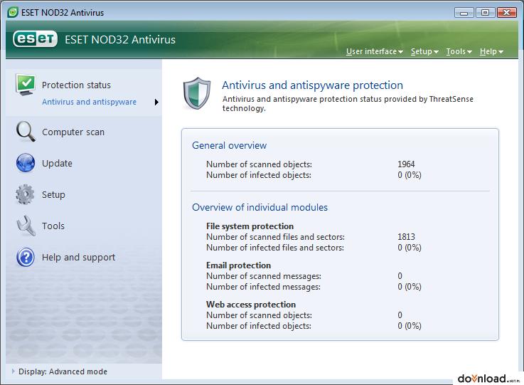 Eset Nod32 Antivirus 9 0 374 1 Version 32 Bit Pl Download