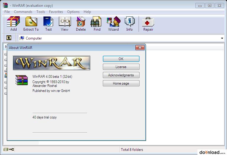 winrar 32 bits windows 7 gratis