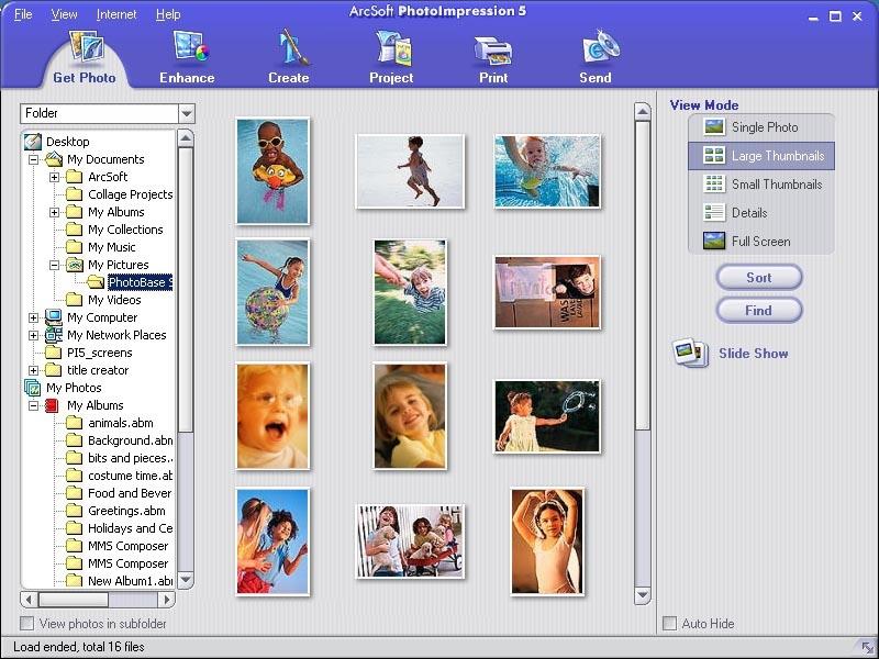 Download the latest version of ArcSoft PhotoImpression
