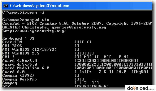 Cmospwd 5 0 Version 32 Bit Download