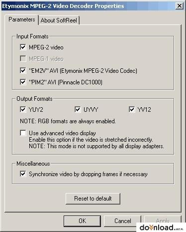 free mpeg-2 codec for windows vista