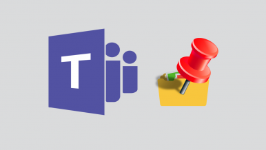 How to pin files and documents in Microsoft Teams. (Pin file to top Microsoft Teams)