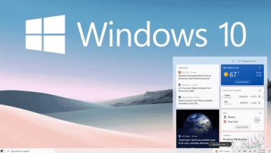 How to disable News and Interests in the Taskbar on Windows 10.