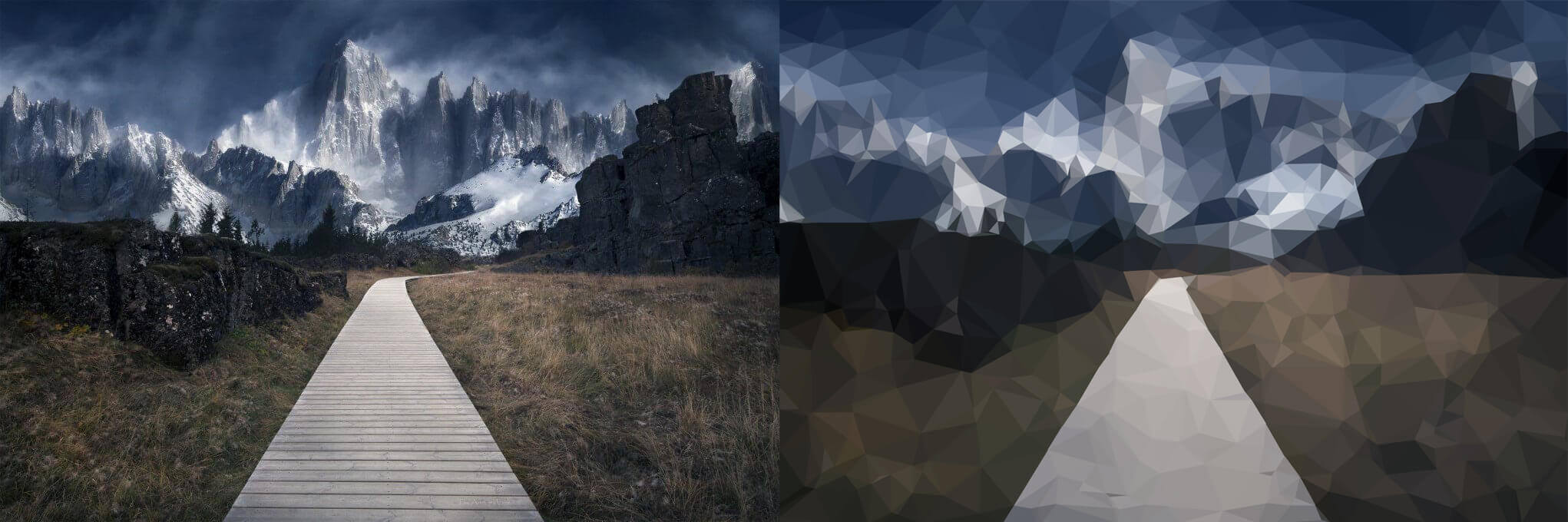 triangular effects plugin for photos