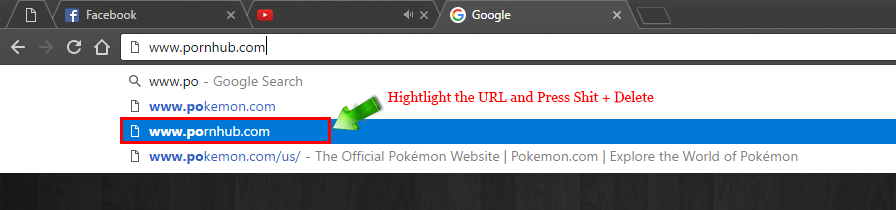 How_to_delete_URL_suggestions_chrome