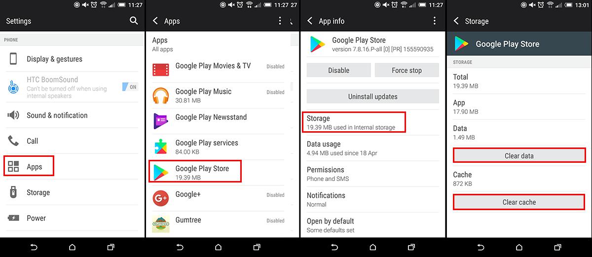 How to Fix Google Play Store Error: DF-DFERH-01.
