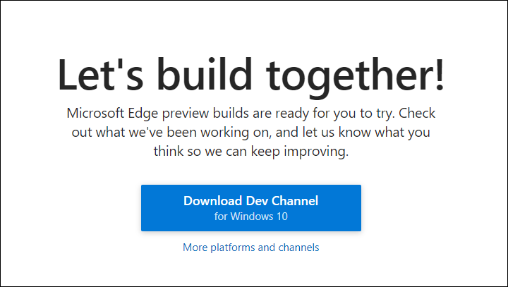 get edge chromium on windows 7 or 8