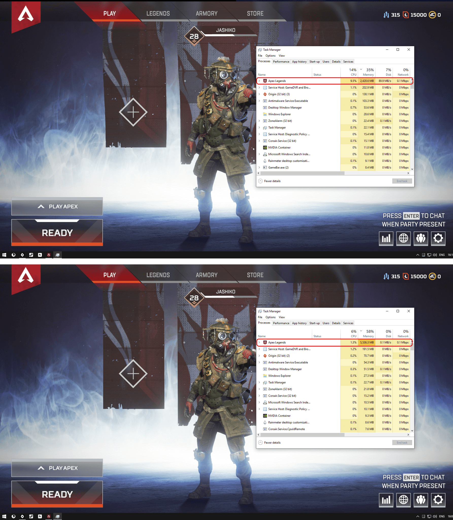 how to fix apex legends fps issues