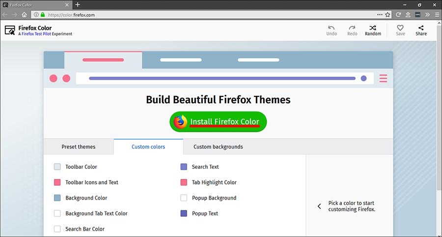 How to Create Your Own Custom Firefox Themes