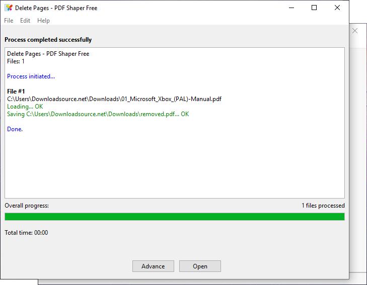 How to delete a pdf file in windows 10