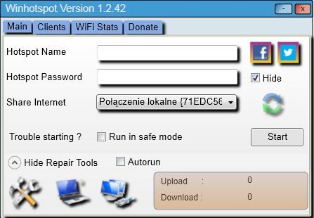 Winhotspot WiFi Router 1 2 42 | IP Tools