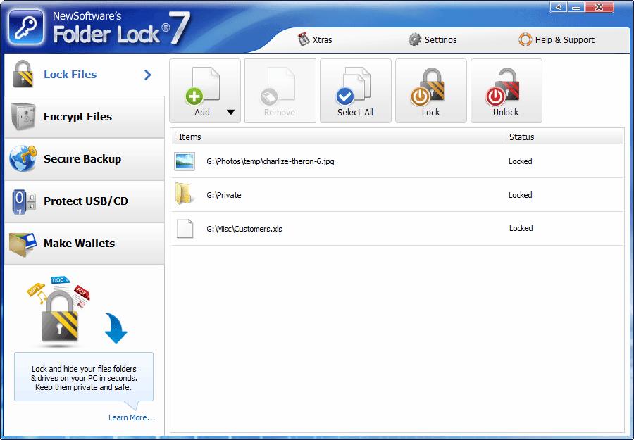 Folder Lock 7.1.8 | Data Encryption