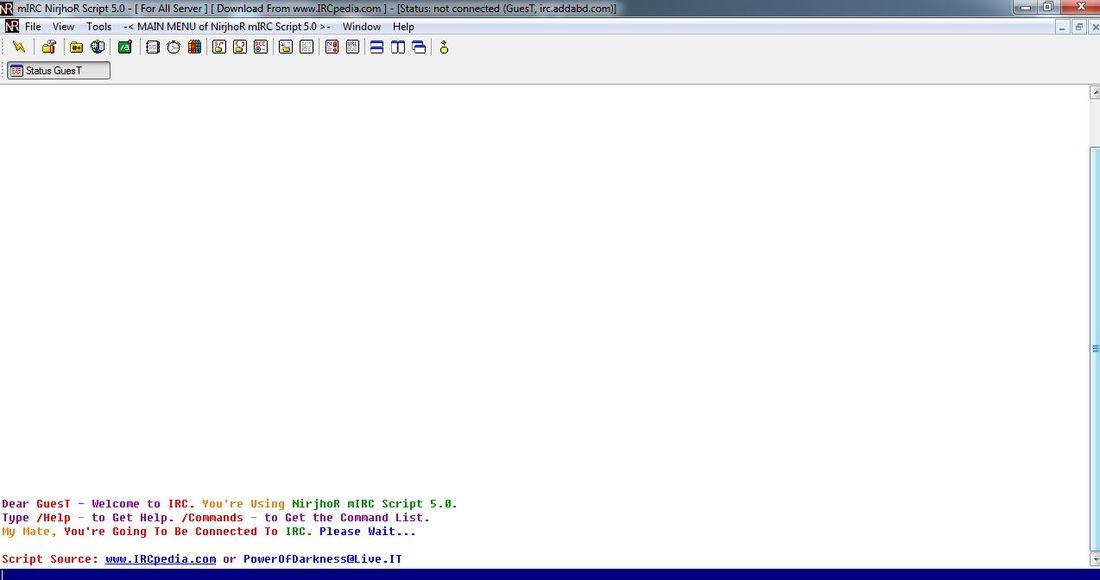 NirjhoR mIRC Script 6 21 | Instant Messengers