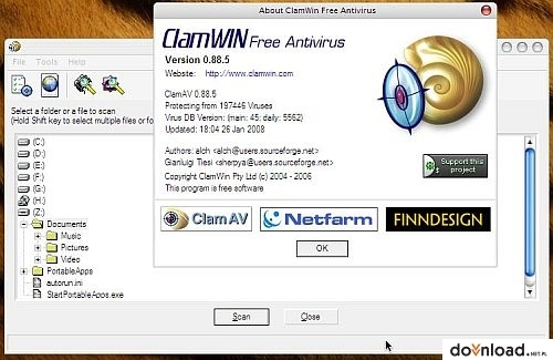 antivirus clamwin gratis