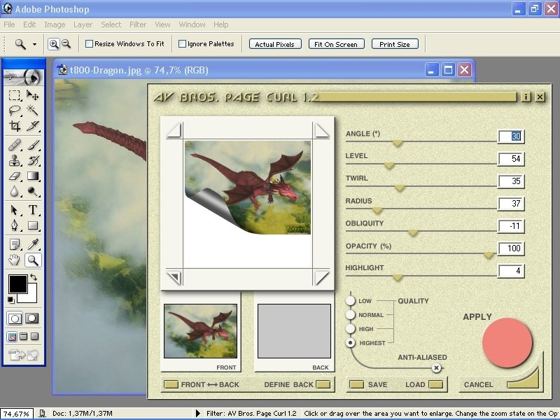 AV Bros  Page Curl Pro 2 2 32bit | Image editors