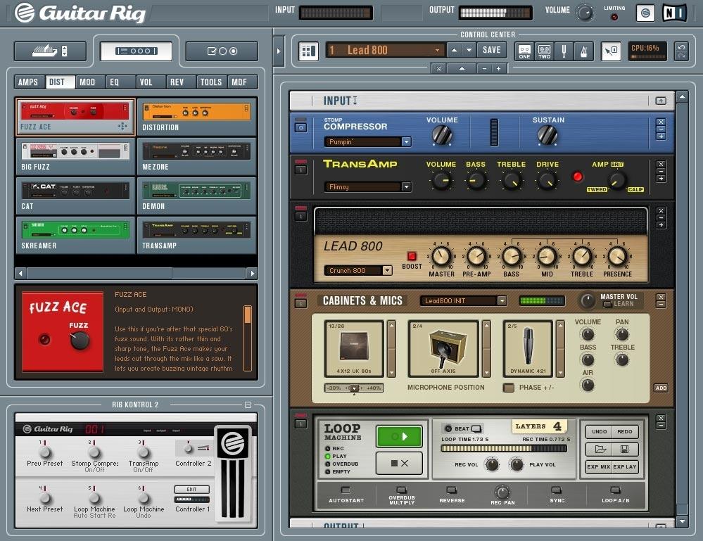 guitar rig 4 crack download