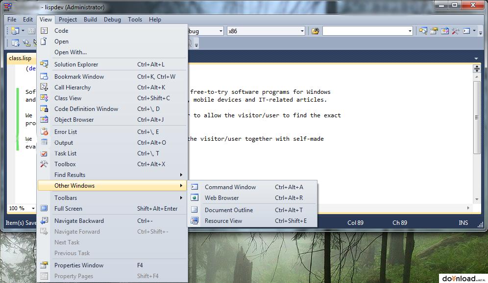 Ufasoft Common Lisp 4 31 | Compilators