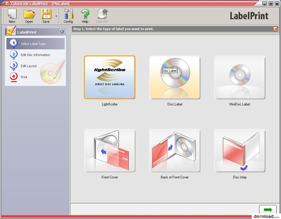 cyberlink labelprint 2.5