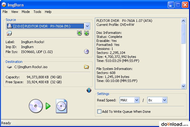 Imgburn 2. 5. 8. 0 free download software reviews, downloads, news.