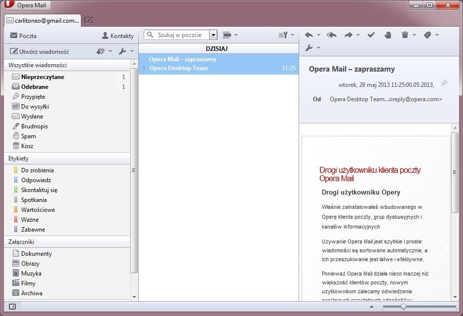 Download opera mail